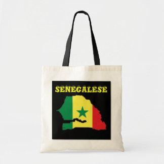SENEGALESE  MAP T-SHIRT AND ETC BUDGET TOTE BAG