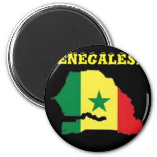 SENEGALESE  MAP T-SHIRT AND ETC FRIDGE MAGNET