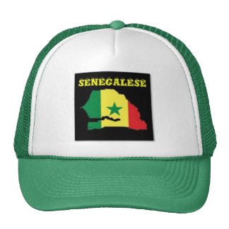 SENEGALESE  MAP T-SHIRT AND ETC TRUCKER HAT
