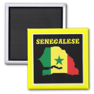 SENEGALESE  MAP T-SHIRT AND ETC REFRIGERATOR MAGNET