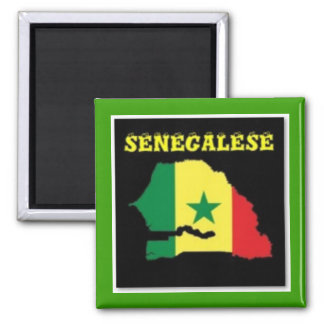 SENEGALESE  MAP T-SHIRT AND ETC MAGNETS