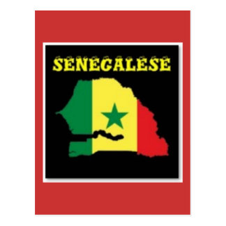 SENEGALESE  MAP T-SHIRT AND ETC POSTCARDS