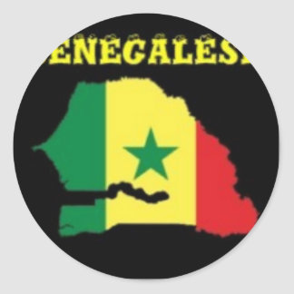 SENEGALESE  MAP T-SHIRT AND ETC STICKERS