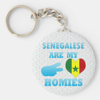 Senegaleses son mi Homies Llavero Personalizado