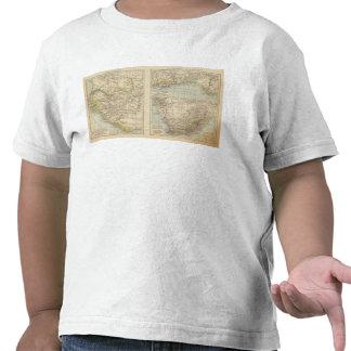 Senegambien, Goldkuste, mapa del atlas de Kapland Camiseta