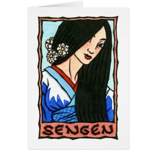 Sengen Greeting Card