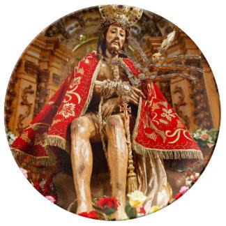 Senhor Bom Jesús DA Pedra Platos De Cerámica