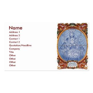 Senhor Santo Cristo Business Card Template