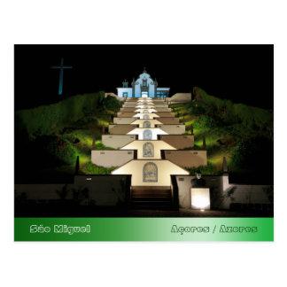 Senhora da Paz - Azores Postcard