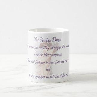 Senility Prayer mug violet