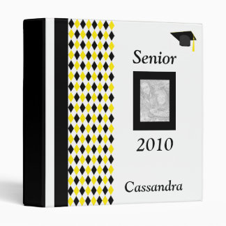 Senior 2010 Personalized Photo Album 3 Ring Binder