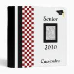 Senior 2010 Personalized Photo Album 3 Ring Binders