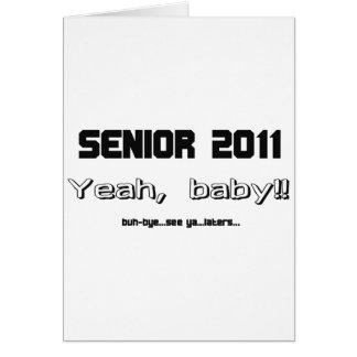 Senior 2011 cards