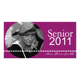 Senior 2011 Personalized Announcement Photocard
