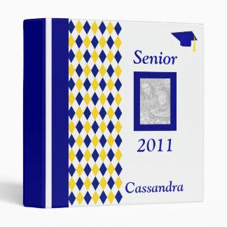 Senior 2011 Personalized Photo Album Vinyl Binders