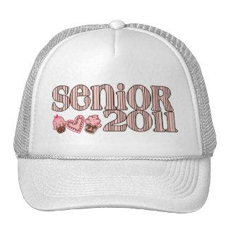 SENIOR 2011 Sweet Girly Trucker Hat