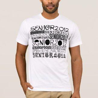 Senior 2012 Apparel (Black) T-Shirt
