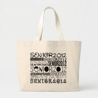 Senior 2012 Tote Bag (Black)
