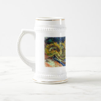 Senior 2012(Van Gogh's Sunflowers) 18 Oz Beer Stein