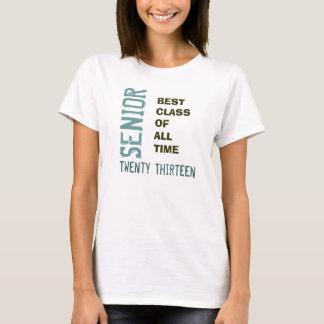 SENIOR 2013 Best Class Of All Time V-Neck T-Shirt