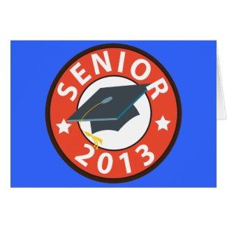 Senior 2013 card