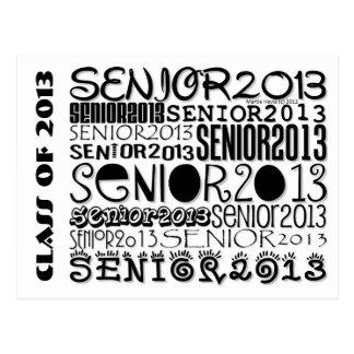 Senior 2013 - Postcard