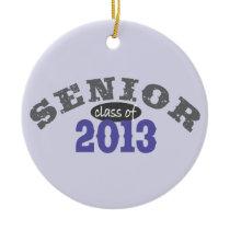 Senior 2013 Purple Ceramic Ornament