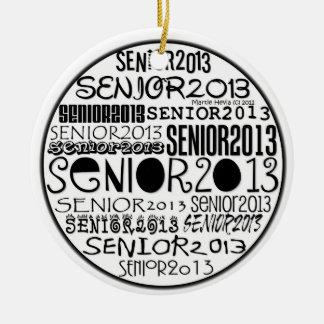 Senior 2013 - Rearview Mirror Ornament