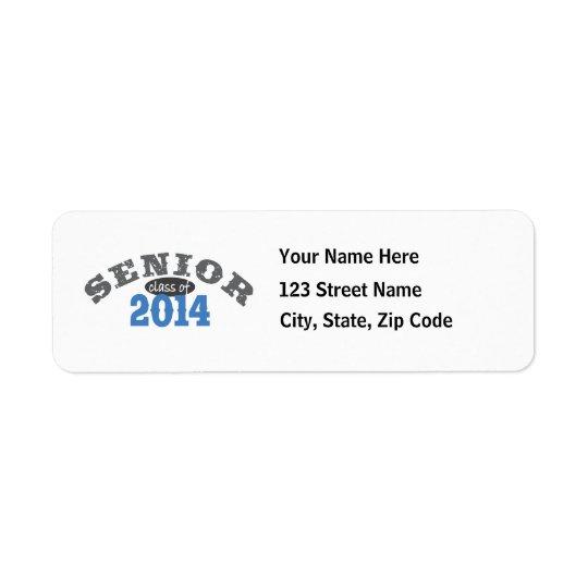 Senior 2014 Blue Label