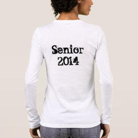 Senior 2014 (Personalize) Long Sleeve T-Shirt