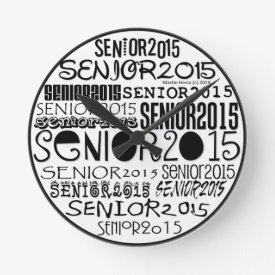Senior 2015 Clock