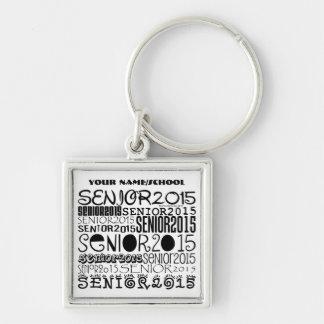 Senior 2015 Keychain (Personalize)