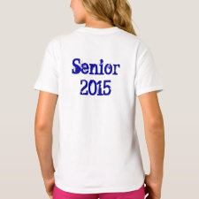Senior 2015 (Personalize) Long Sleeve T-Shirt