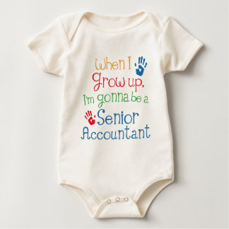 Senior Accountant (Future) Child Baby Bodysuit