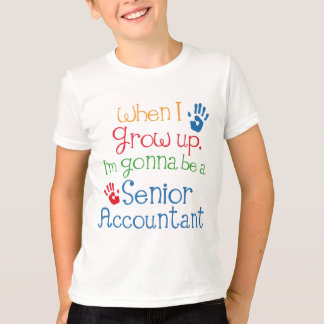 Senior Accountant (Future) Child T-Shirt