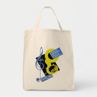 Senior Amateur Music Contest Grocery Tote Bag