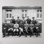 Senior American Military Officials of World War II Print