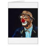 Senior Billy The Clown Greeting Card
