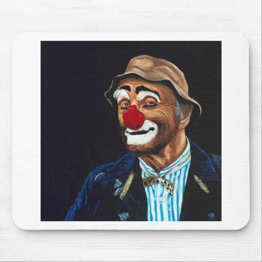 Senior Billy The Clown Mouse Pad