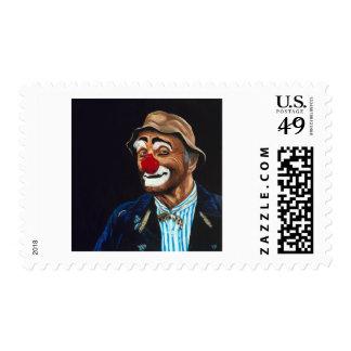 Senior Billy The Clown Stamp