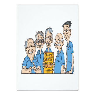 Senior Bowling Champs Card