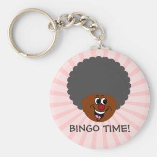 Senior Citizen Center Bingo Night Prize Winner Basic Round Button Keychain