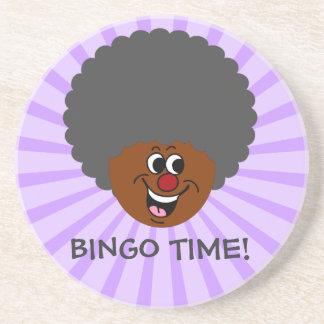 Senior Citizen Center Bingo Night Prize Winner Drink Coaster