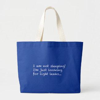Senior Citizen - I am not sleeping! Tote Bags
