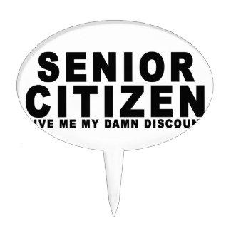 Senior Citizen.png Cake Pick