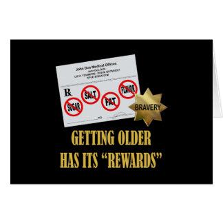"""Senior Citizen """"Rewards"""" Card"""