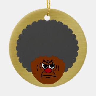 Senior Citizen Stern Warning: Respect Your Elders Christmas Tree Ornaments