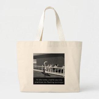 Senior Citizens - The flasher Jumbo Tote Bag