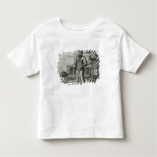 Senior Civil Servant Collecting Taxes, illustratio T-shirts
