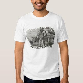Senior Civil Servant Collecting Taxes, illustratio Tee Shirts